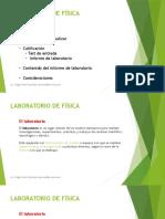 Presentación Introducción Laboratorios Física