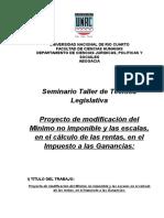 UNIVERSIDAD TRABAJO TECNICA LEGISLATIVA trabajo de Miotti.doc