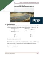 CAPITULO VIII NOCIONES DE FLUJO NO PERMANENTE EN CANALES.pdf