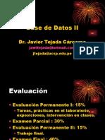 Bases de Datos II