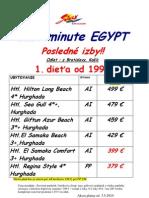 LM Egypt na odlet 26.5-.5.6 platné od 3.5.