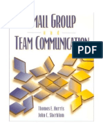 Small Group and Team Communication (4th Harris, Sherblom