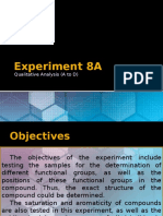 Experiment 8A Oral Report