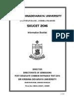 Skucet2016 Prospectus