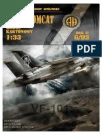 F-14 VF-101 NEGRU