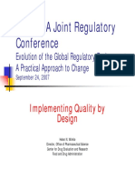 Slides - FDA Implementing (Qbd) i
