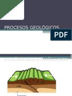 PROCESOS GEOLÓGICOS