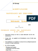 10-Breakdown Analysis, Key Indicators & Informatic System