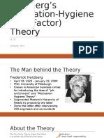 Herzbergs Motivation-Factor Theory