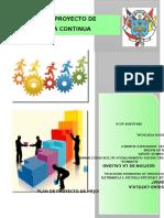 Plan de Proyecto deproyecto  Mejora Continua Final