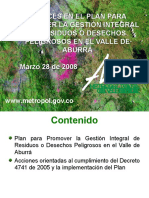 7 Presentacion Amva Avances Del Plan de Respel 2008