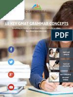 18 GMAT Grammar Concepts