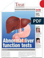 Abnormal liver function tests