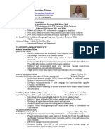madeleine palmer- teaching resume