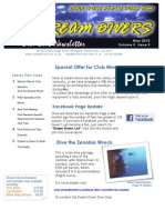 Dream Divers May 2010 Club Newsletter