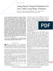 Compressive Sensing Based Channel Estimation for OFDM Systems Under Long Delay Channels