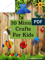 20 Minute Crafts for Kids