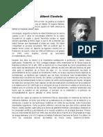 Biografía Albert Einstein