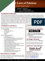 Labor Laws Brochure