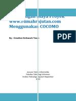 COCOMO - RumahRajutan