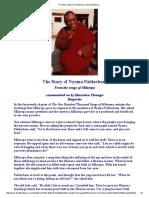 The Story of Nyama Paldarbum, Song of Milarepa
