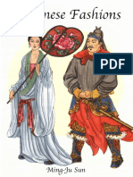 [Dover] History of Fashion - Chinese Fashions