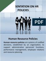 HR Policies Presentation