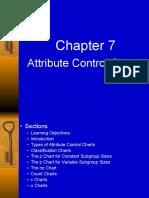 Chapter 7 CD Qualtiy Control