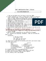 Tnpsc Group1 Question Paper