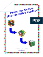 How to Solve the Cube