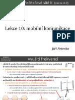 Počítačové sítě II, lekce 10