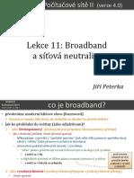 Počítačové sítě II, lekce 11