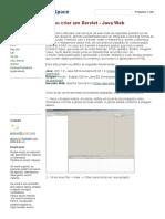 Como Criar Um Servlet - Java Web - TecSpace