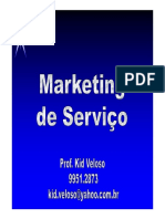 A2 - MKT Serviço 8P's - Prof. Kid