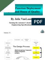 Quality Function Deployment VanLaanen S07.ppt