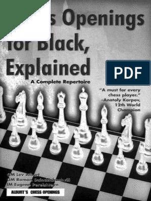 LEV ALBURT - CHESS OPENINGS FOR BLACK EXPLAINED pdf