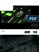 Calrec Audio product guide, in French