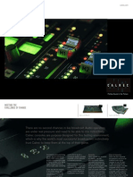Calrec Audio product guide, in English
