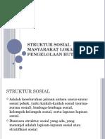 6. Struktur Sosial Masyarakat Lokal Dalam Pengelolaan Hutan