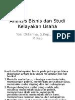 Analisis Bisnis Dan Studi Kelayakan Usaha