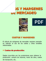 Costos y Margenes de Mercadeo