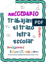 Cuaderno de Trazos Imágenes Educativas ANIMALES Letra Escolar PDF
