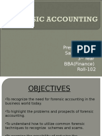 Forensic Accounting-mid Sem