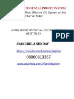 Free Report on Virtual Football Trading.pdffree Report on Virtual Football