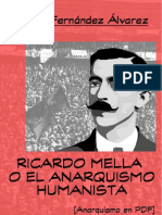 Fernández Álvarez, Antón - Ricardo Mella o El Anarquismo Humanista [Anarquismo en PDF]