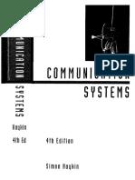 Communication Systems 4ed Haykin