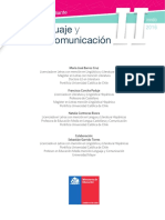 Texto del Estudiante 2° Medio - Lenguaje y Comunicación 2016
