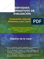 Enfoques Alternativos de Evaluaci‡n (2)
