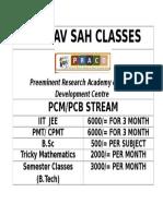 Saurav Sah Classes