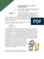 Playground Rules Part 2 Quack Quack